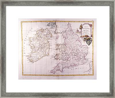 Kingdom Of England And Ireland Framed Print by Fototeca Storica Nazionale