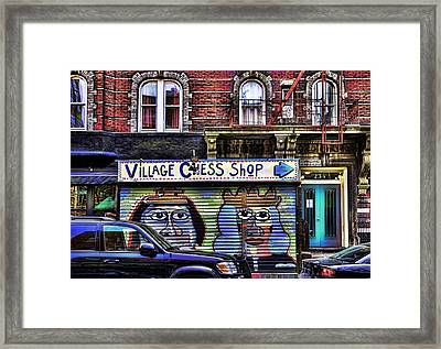 Kings And Queens Of The City Framed Print by Joanna Madloch