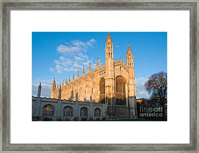Framed Print featuring the photograph Kings At Sunrise by Andrew  Michael