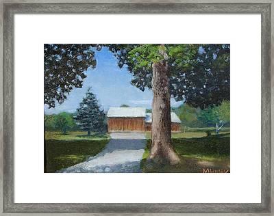 Kingsbury Farm Framed Print by Mark Haley