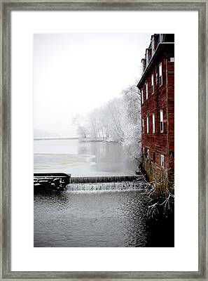 Kingston Mill Framed Print by Frank DiGiovanni