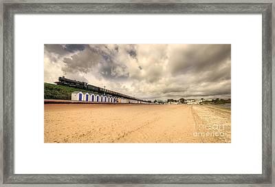 Kinlet Hall At Goodrington Sands Framed Print by Rob Hawkins