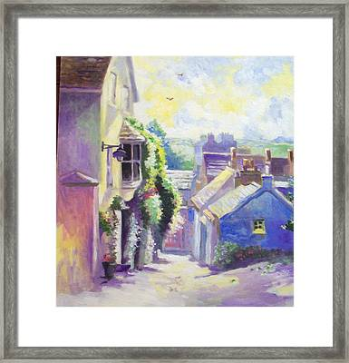 Framed Print featuring the painting Kinsale Co Cork by Paul Weerasekera