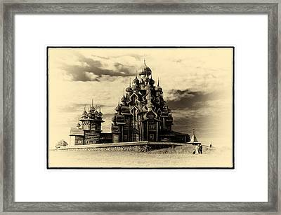 Framed Print featuring the photograph Kishi Domes Old Artwork by Rick Bragan
