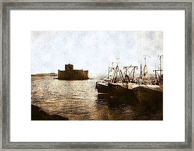 Kisimul Castle Scotland Framed Print
