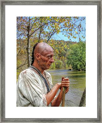 Kiski River Morning Framed Print