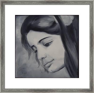 Kismat Framed Print by Navjeet Gill