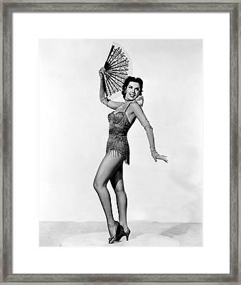 Kiss Me Kate, Ann Miller, 1953 Framed Print