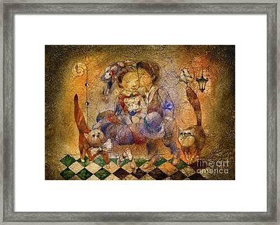 Kiss Framed Print by Svetlana and Sabir Gadghievs