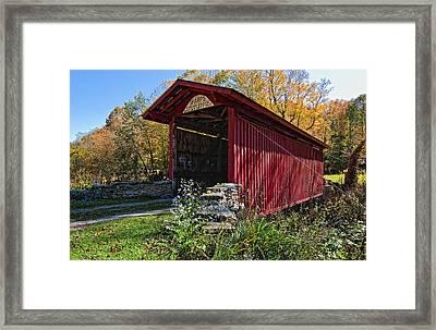 Kissing Bridge 2 Framed Print by Steve Harrington