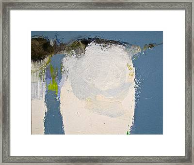 Kissn Where Its Cold Framed Print by Cliff Spohn