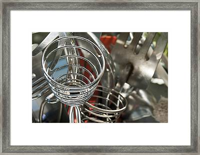 Framed Print featuring the photograph Kitchen 2 by Lisa Missenda