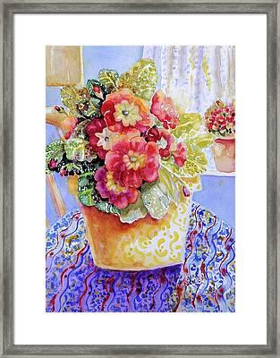 Kitchen Primrose II Framed Print by Ann  Nicholson