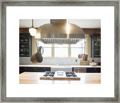 Kitchen Stovetop Framed Print by Andersen Ross