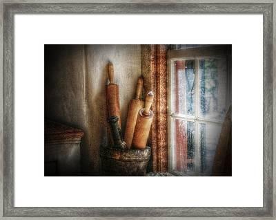 Kitchen Window Framed Print