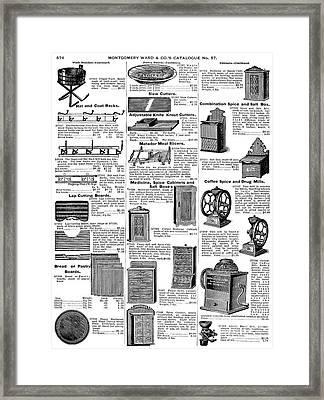 Kitchenware, 1895 Framed Print by Granger