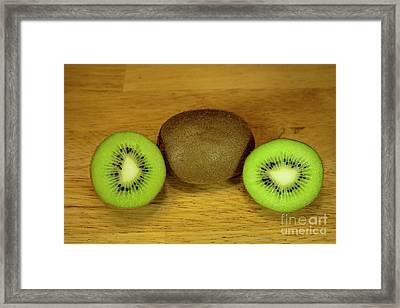 Kiwi Kiwi And More Kiwi Framed Print by Michael Waters