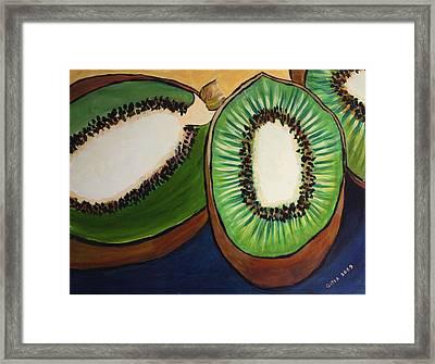 Kiwis Framed Print