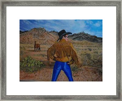 Wild Girls Of The West Framed Print by James Welch