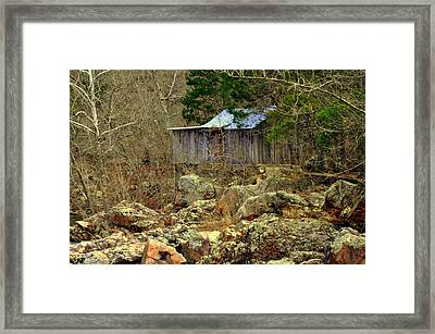 Framed Print featuring the photograph Klepzig Mill by Marty Koch