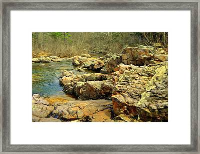 Framed Print featuring the photograph Klepzig Shut In by Marty Koch