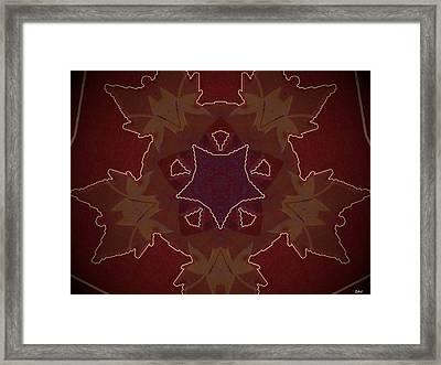 Klidanature Design Framed Print by Debra     Vatalaro