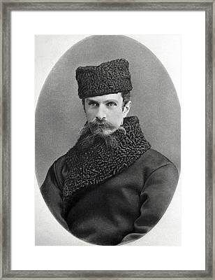 Kliment Timiryazev, Russian Botanist Framed Print by Ria Novosti