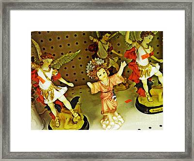 Knickknacks At The 99 Cent Store 2 Framed Print by Sarah Loft