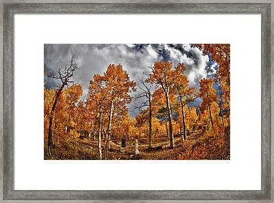 Framed Print featuring the photograph Knights Of Pythias Autumn by Kevin Munro