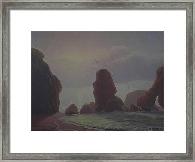 Knights Point 1976 Framed Print