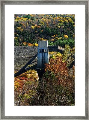 Knightsville Dam Framed Print