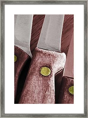 Knives II Framed Print by Bill Owen