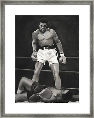 Knockdown Framed Print by L Cooper