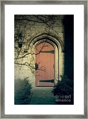 Knockin On My Door Framed Print by Joel Witmeyer