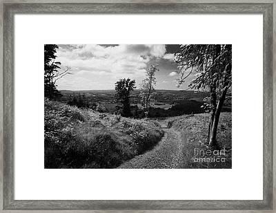 Knockmany Hill Clougher Valley County Tyrone Northern Ireland Framed Print by Joe Fox