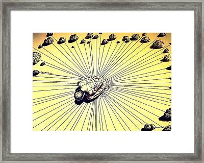 Knowledge Without Wisdom IIi Framed Print by Paulo Zerbato