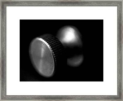 Knurled Framed Print by Lisa Phillips