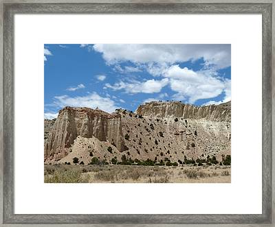 Kodachrome Basin State Park II Framed Print by Terry Eve Tanner
