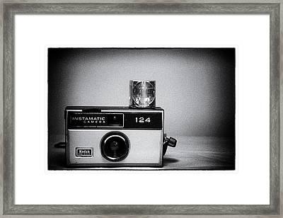 Kodak Instamatic 124 Framed Print