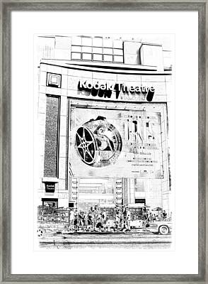 Kodak Theatre Framed Print by Ricky Barnard