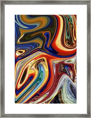Koi Framed Print by Chris Butler