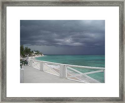 Kokomo Thunderstorm Framed Print by Michael Picco