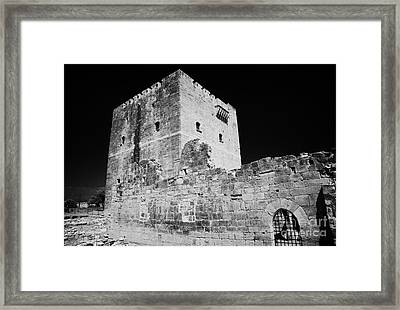 Kolossi Castle Republic Of Cyprus Framed Print