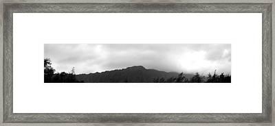 Koolau Range Framed Print by Elizabeth  Doran