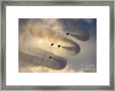 Korean Black Eagles Framed Print by Angel  Tarantella