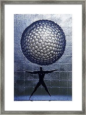 Kosta Universal Man Framed Print