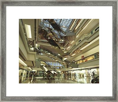 Kowloon Tong Festival Walk, The Newest Framed Print by Justin Guariglia
