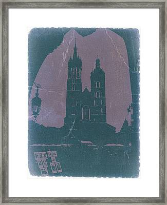 Krakow Framed Print by Naxart Studio