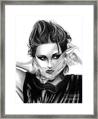 Kristen Stewart 2 Framed Print