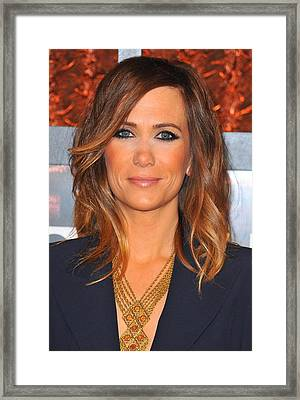 Kristen Wiig In Attendance For The Framed Print